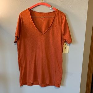 "J Crew ""painters"" T-shirt, ladies size xl"